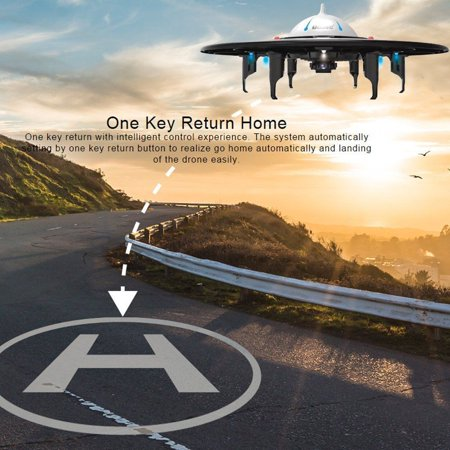 UDI U845 Voyager UFO RC Drone with 720P HD Camera for Beginners w/One Key