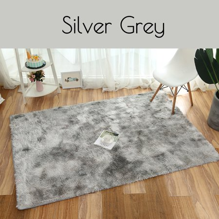 32''x20'' Modern Super Soft Fluffy Floor Rug Washable Anti-skid Shag Shaggy Area Rug Bedroom Dining Room Carpet Yoga Mat Child Play Mat ()