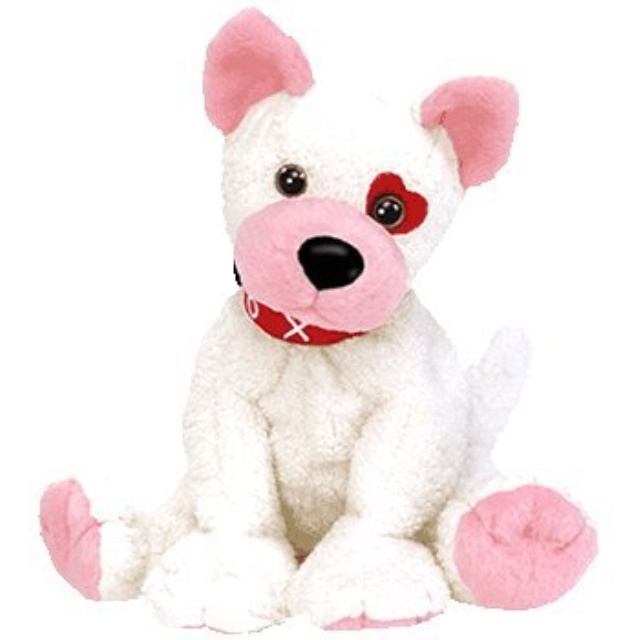 Ty Beanie Babies - Cupid the Valentines Dog
