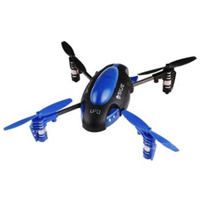 Microgear EC10302-Blue 2.4 Ghz. 4 Channel Radio Control Qx-305 6 Axis Quad Copter Gyroscope Blue by Microgear