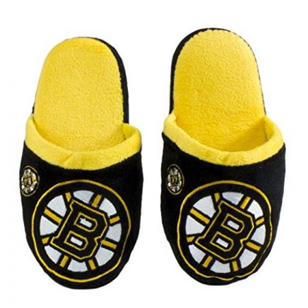 Forever Collectibles NHL Child's Mascot Slippers, Boston Bruins, Small (8-9)