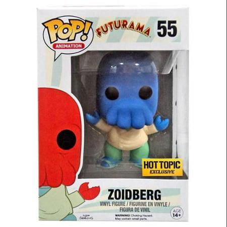 Funko Futurama POP! Animation Zoidberg Vinyl Figure [Blue] - Dr Zoidberg