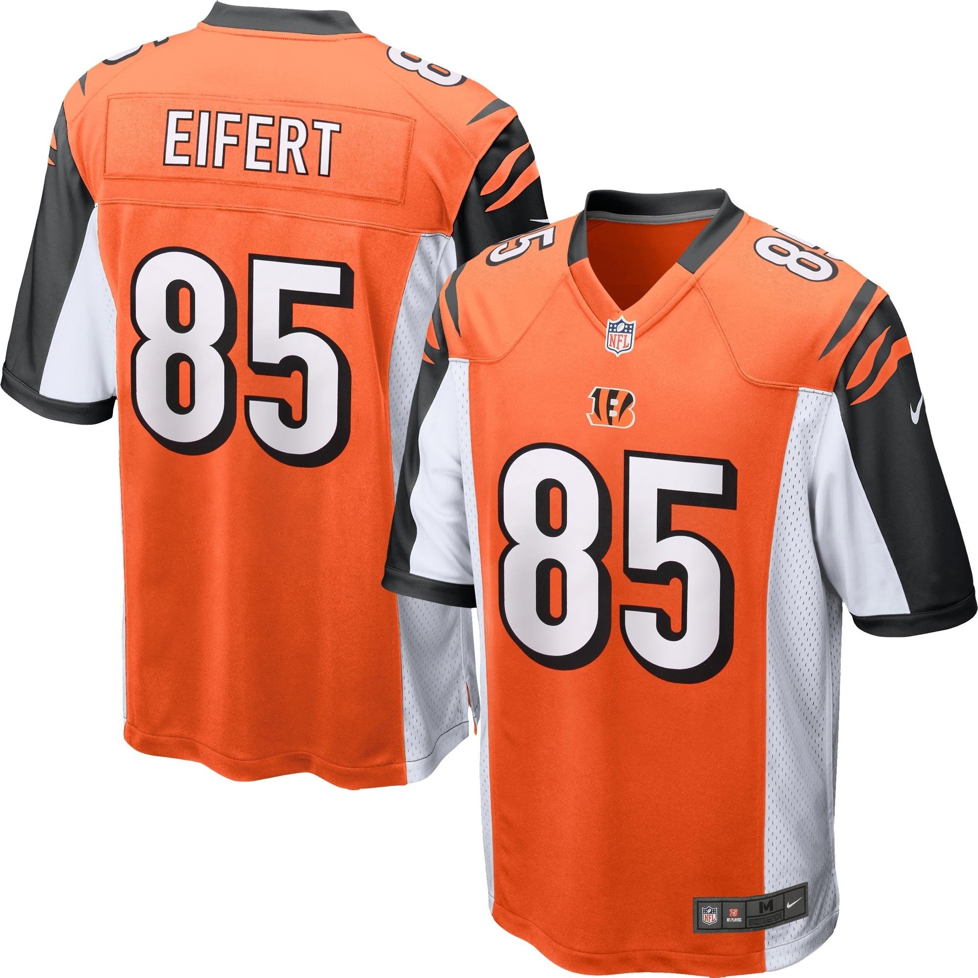 Tyler Eifert Cincinnati Bengals Nike Youth Alternate Game Jersey - Orange - Walmart.com