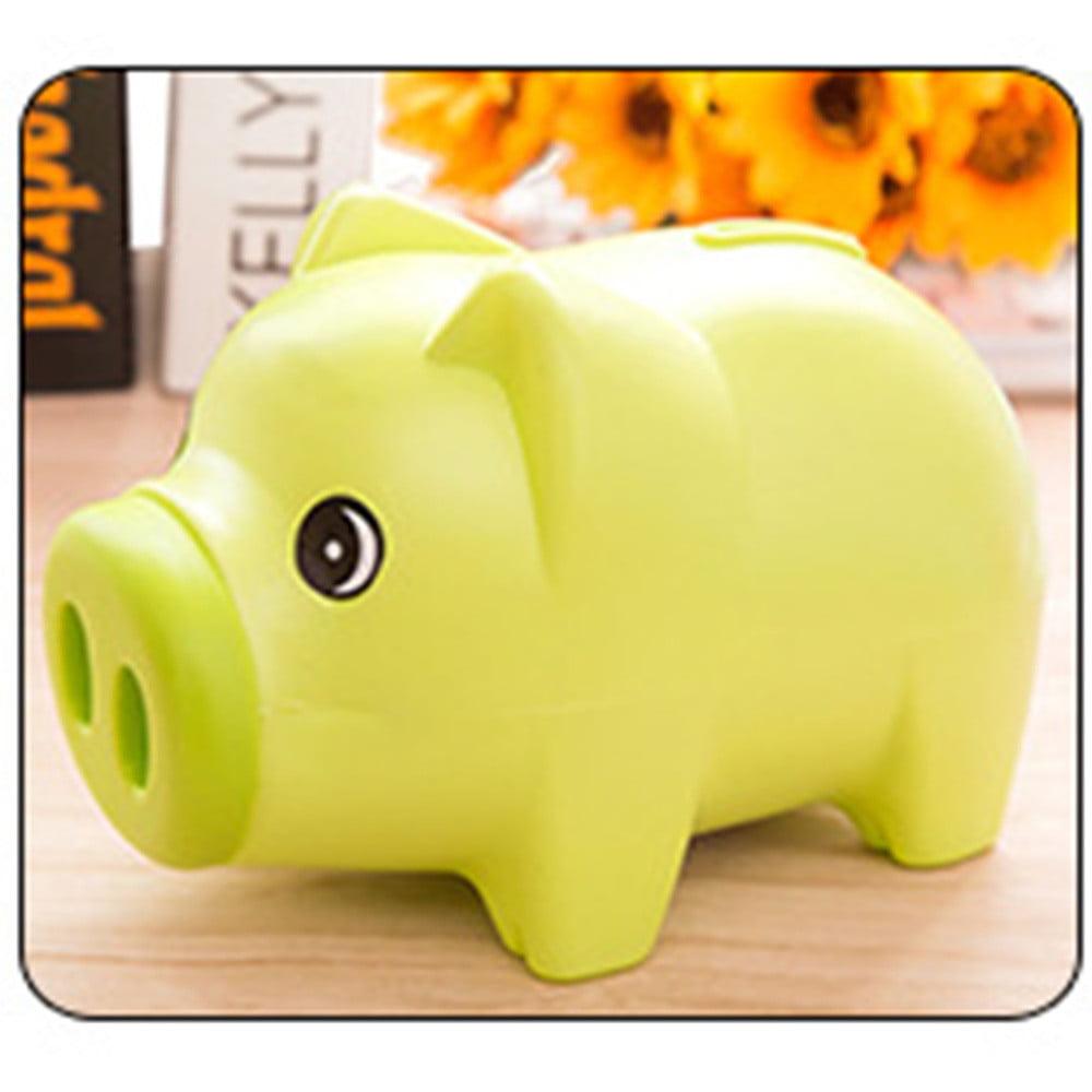 Hot Sale Cute Plastic Piggy Bank Pig Cash Coin Money Saving Box Children Toys Kids Gifts