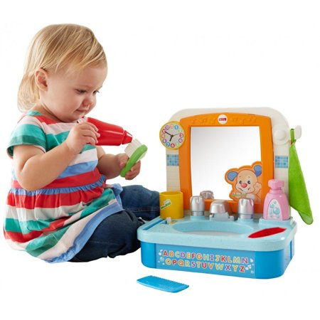 Fisher Price Laugh   Learn Lets Get Ready Sink