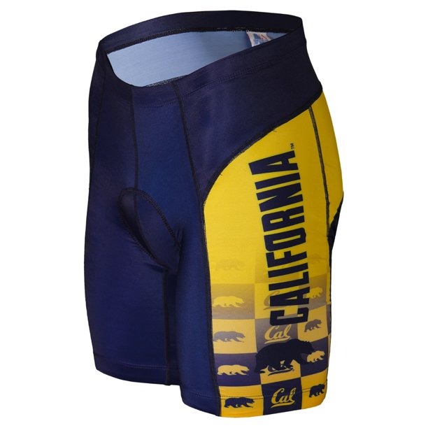Adrenaline Promotions University of California Golden Bears Cycling Shorts (University of California Golden Bears - S)