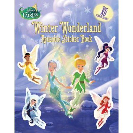 Disney Fairies: Winter Wonderland Reusable Sticker - Winter Fairies