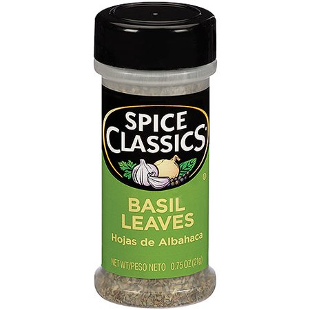 Basil Lettuce Leaf (Mc Cormick Basil Leaves)