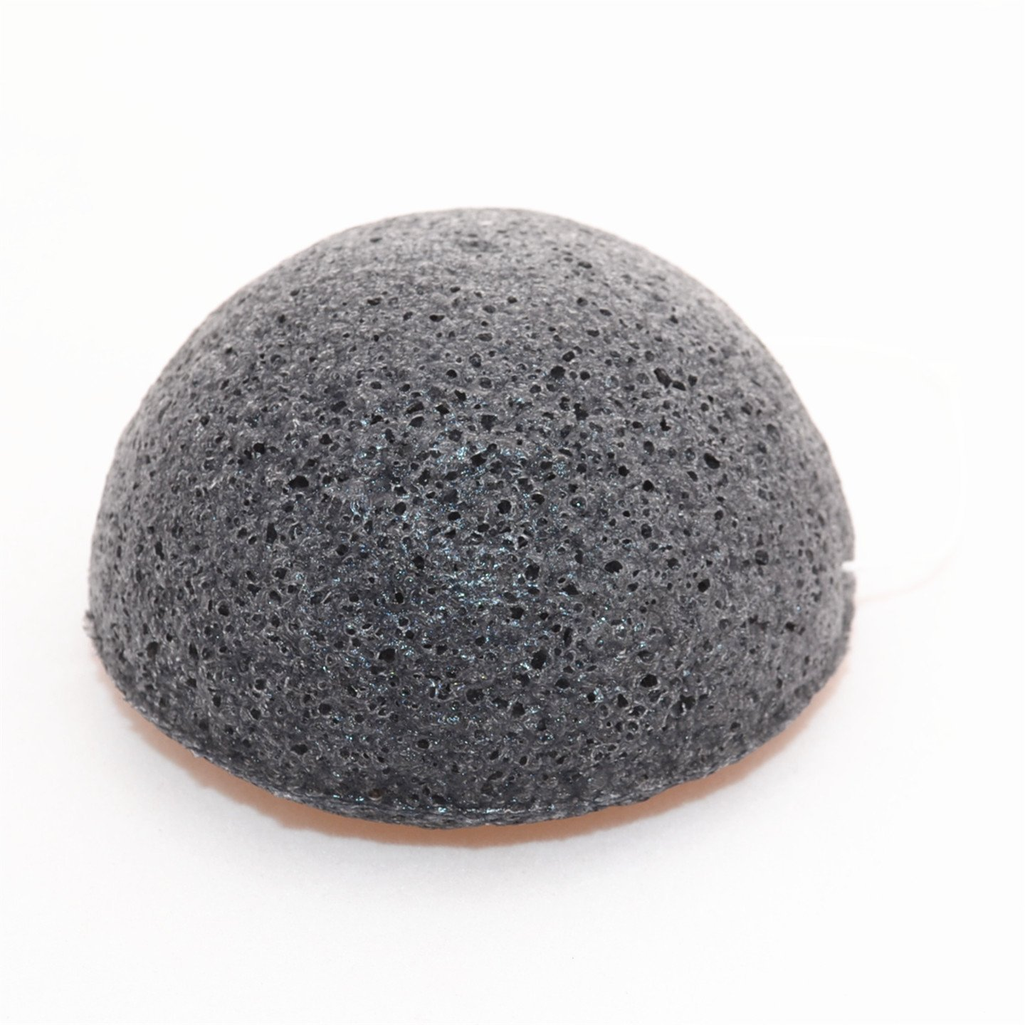 Konjac Facial Sponge Set - 100% Natural Great for Sensitive, Oily & Acne Prone Skin -Best Beauty Facial Scrub for gentle deep cleaning & exfoliation (2 Charcoal Sponges Included!)