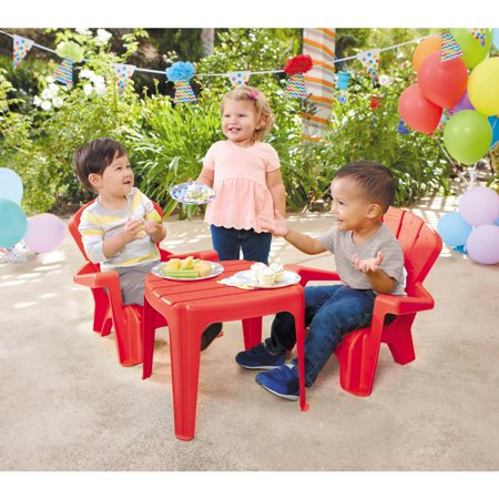 Little Colorado Play Table - Little Tikes Garden Table and Chairs Set, Multiple Colors