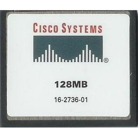 - Cisco Approved MEM1800-64U128CF - 128mb Flash Memory for Cisco 1800 Series