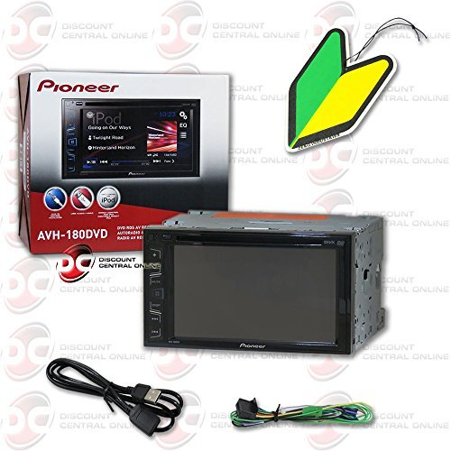 """2015 Pioneer 6.2"""" Touchscreen Double Din 2DIN DVD MP3 CD Player Pandora Support with FREE Squash Air Fresheners"""