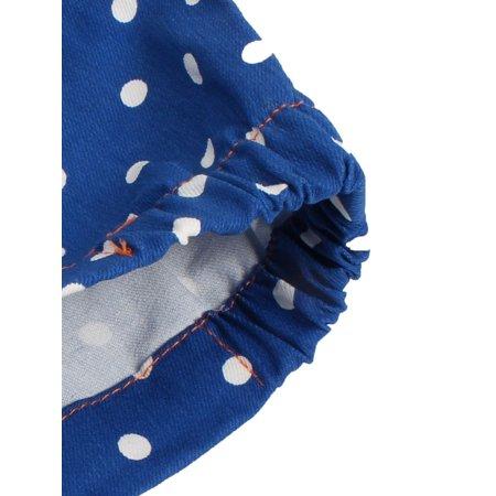 SAFEBET bagages autorisés Motif Dots tissu couvercle anti-rayures Bleu foncé - image 5 de 7
