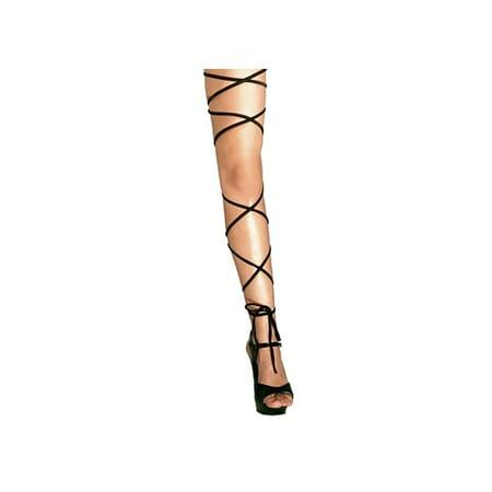 60 Inch Spaghetti Leg Wrap 1020SL Body Zone Black,Neon Pink,Red,Turquoise,White - Quiz Zone Halloween