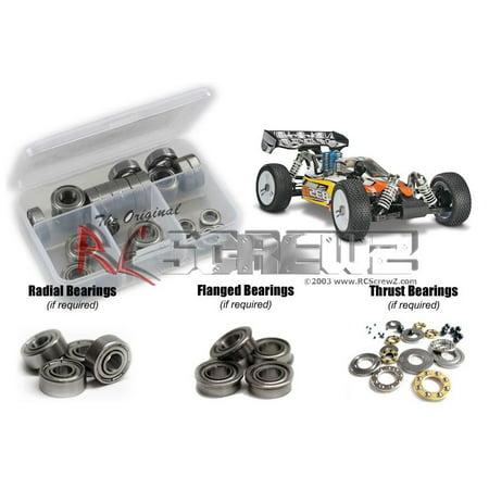 RC Screwz Metal Shielded Bearing Kit for Duratrax 835B Nitro Buggy #dur037b