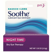 Advanced Eye Relief Night Time Persistent Dry Eye Lubricant Eye Ointment, .125 oz