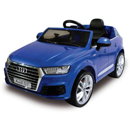 V Audi Q BatteryPowered RideOn Walmartcom - Audi 6v car