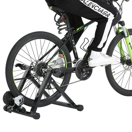 Cycle Bike Trainer Indoor Bicycle Exercise Portable Magnetic Work Out (Magnetic Fluid Trainer)