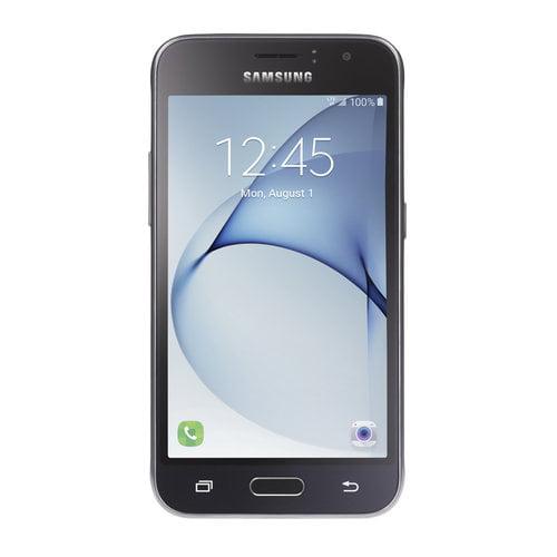 Straight Talk Samsung Galaxy J1 Luna 8GB Prepaid Smartphone, Black (Bundle Promo Available)