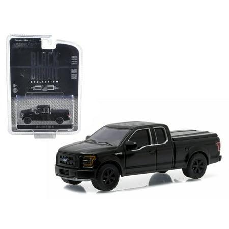 Outstanding 2015 Ford F 150 Xl Pickup Truck Black Bandit 1 64 Diecast Model By Greenlight Frankydiablos Diy Chair Ideas Frankydiabloscom