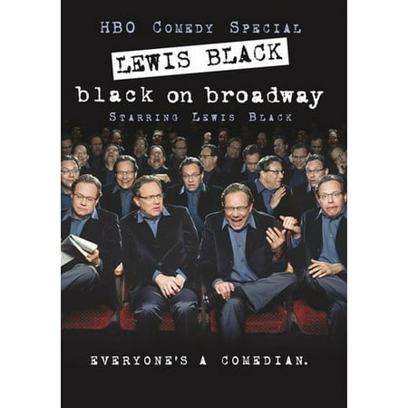 Lewis Black: Black on Broadway (DVD)