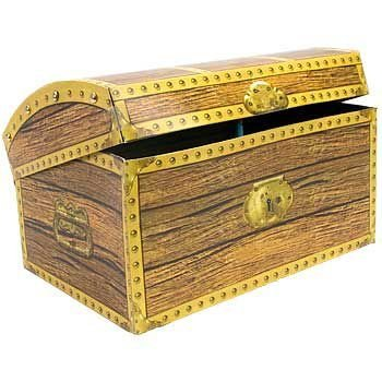 Beistle Home Party Decoration Treasure Chest Box 11 3 4 X 8