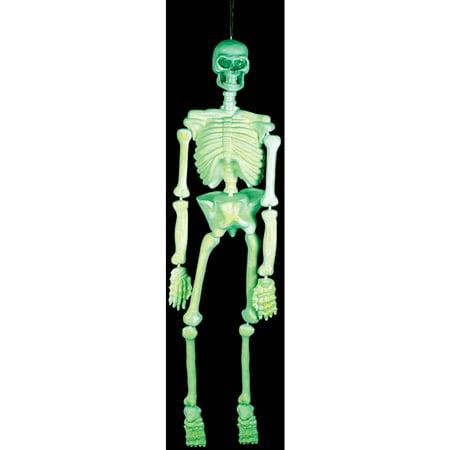 Glow Plastic Skeleton
