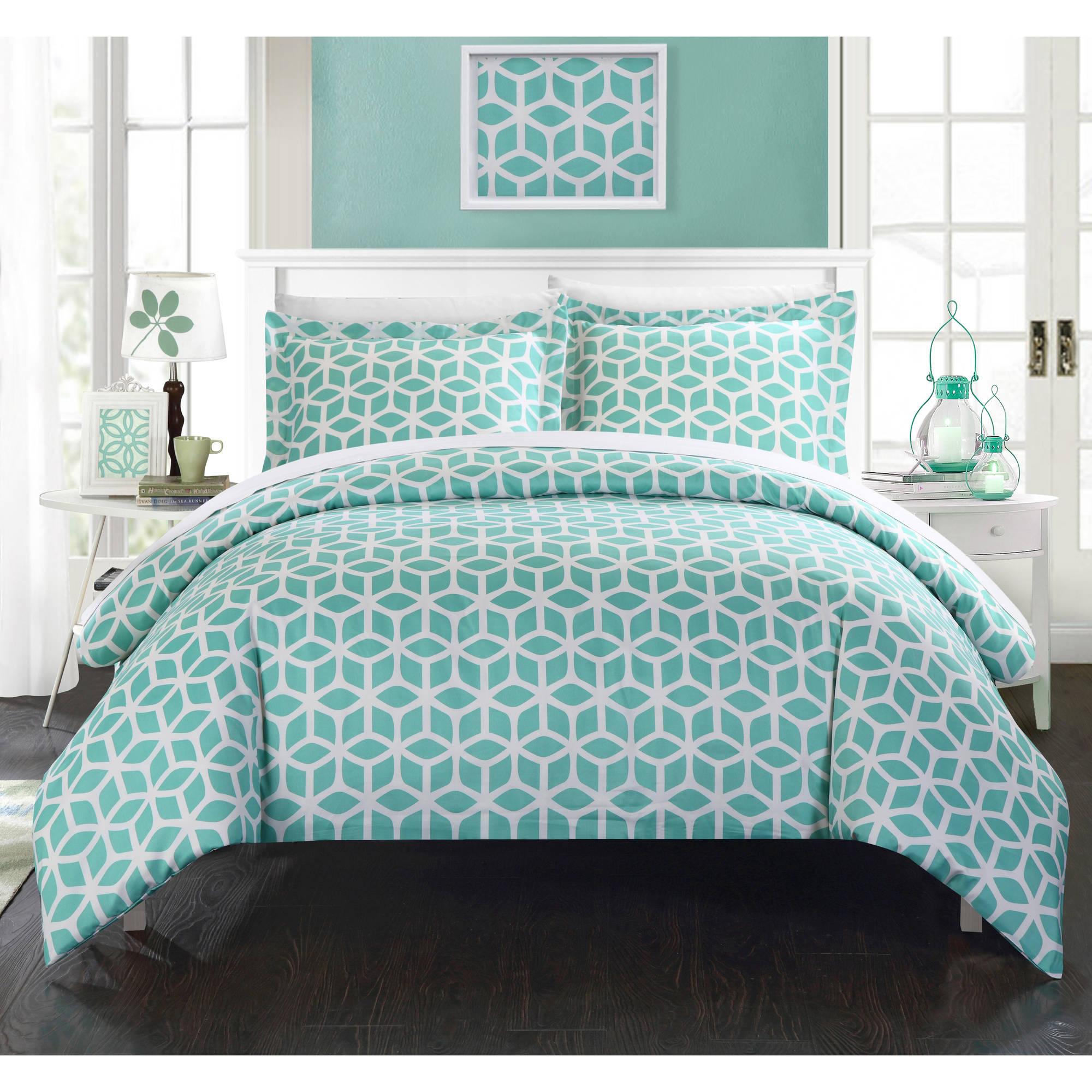 Chic Home Lovey 9-Piece Bed in a Bag Duvet Cover Set