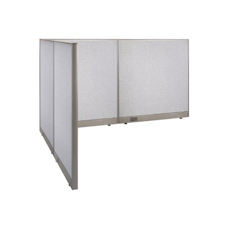 GOF L-Shaped Freestanding Office Panel Cubicle Wall Divider Partition 72D x 96W x 48H / Office, Room Divider