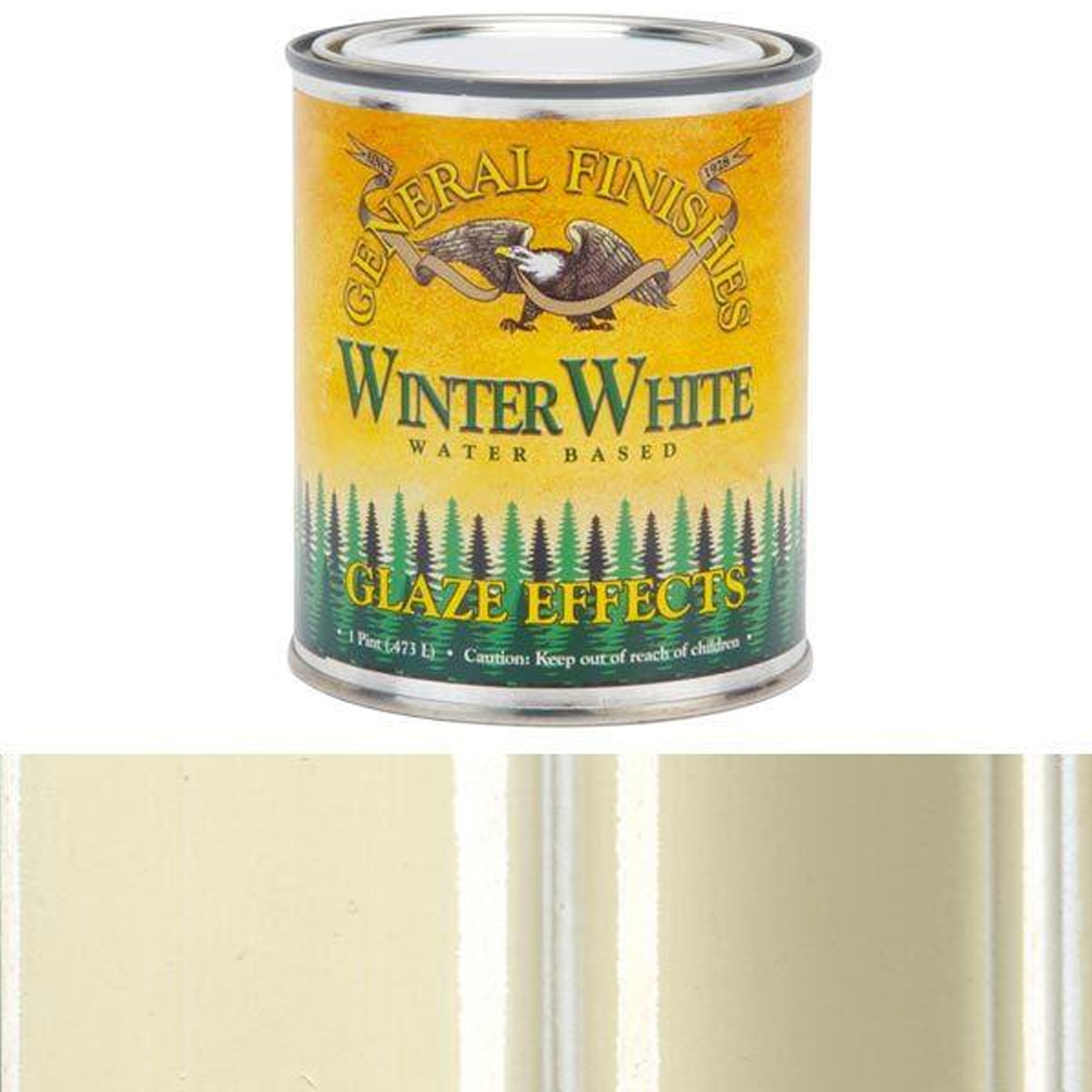 Winter White Glaze, Pint