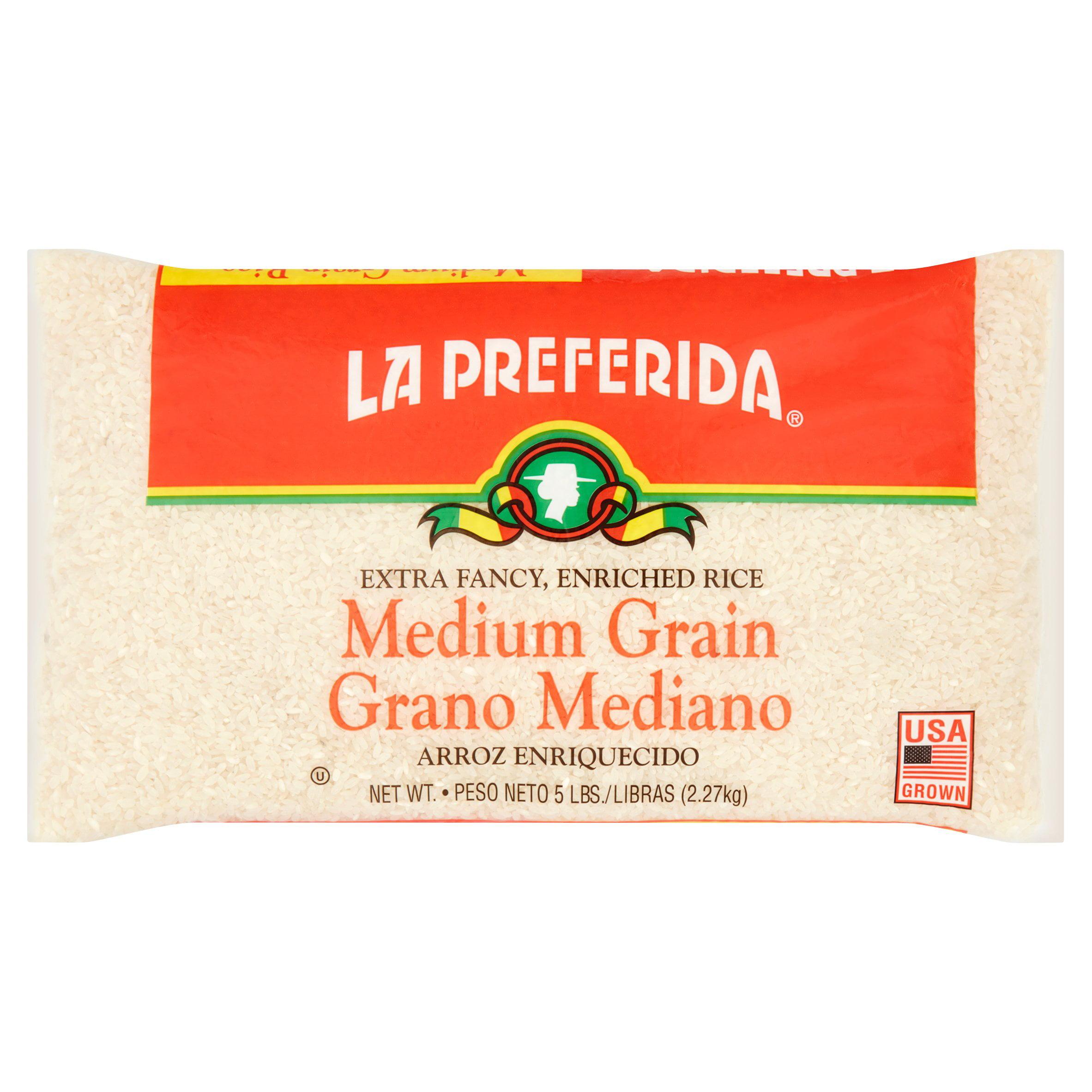 La Preferida Medium Grain Rice, 5 lbs