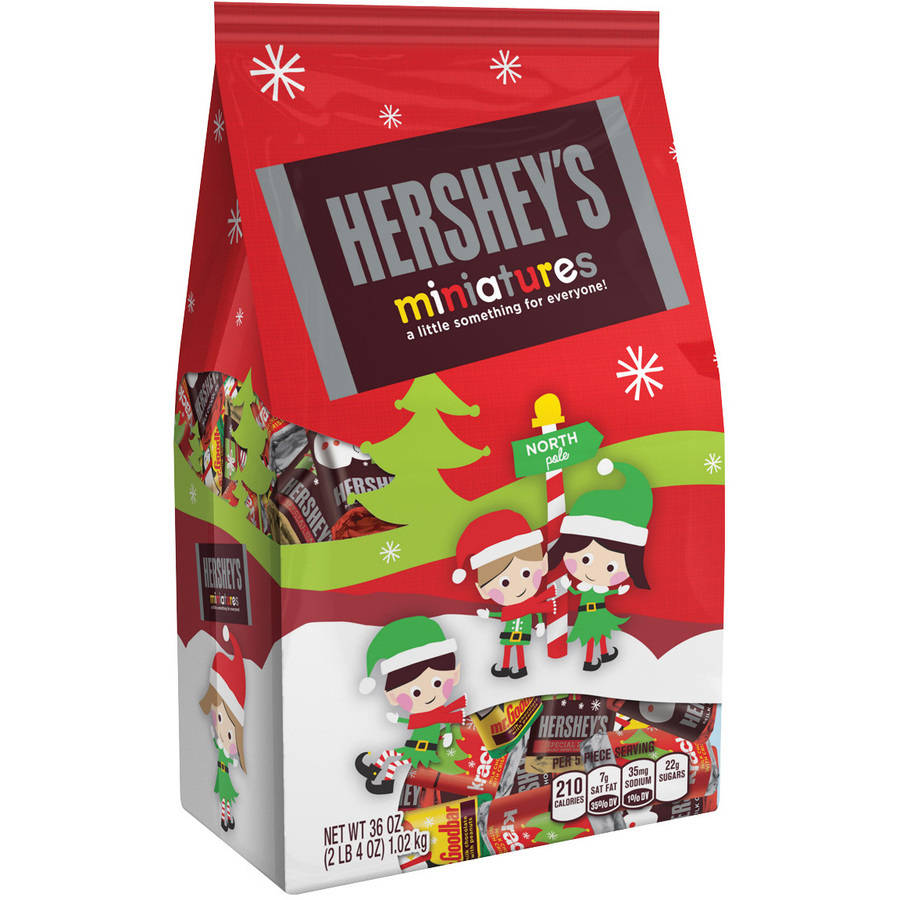 Hershey's Holiday Miniatures Assortment, 36 oz