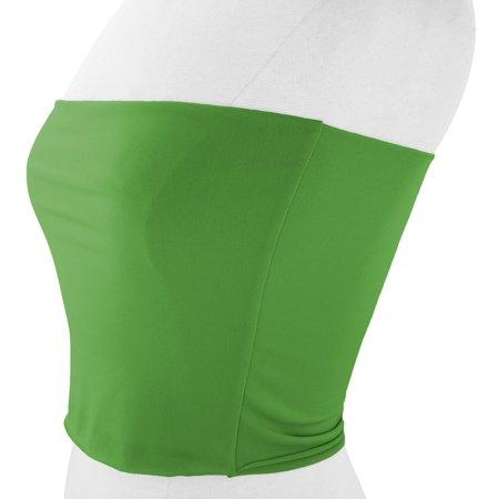 48cd8cf5d34 VON VONNI - VON VONNI Women s Kelly Green Transformer Tube Top One Size -  Walmart.com