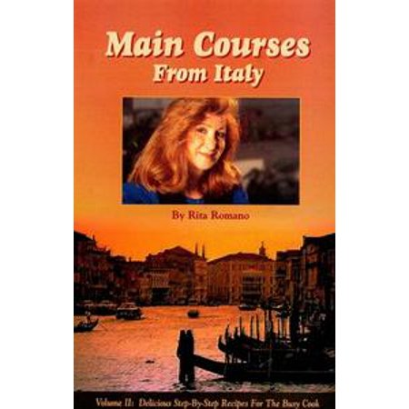 Main Courses from Italy - eBook (Halloween Party Food Main Course)
