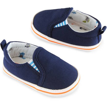 Image of Child of Mine by Carter's Newborn Baby Boy Boys Slip On Monster Shoes, 0-6M