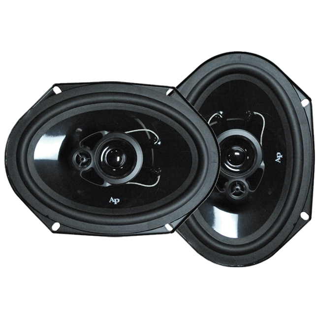 "Audiopipe CSL1603 AUDIOPIPE SPEAKER 6"" 3-WAY (pair) 330 WATT PP CONE"