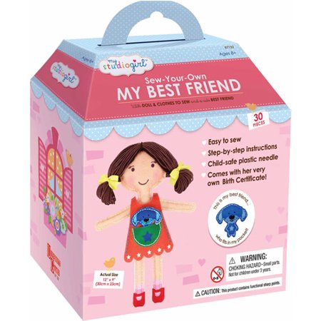 My Studio Girl Sew-Your-Own My Best Friend,