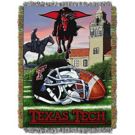 "NCAA 48"" x 60"" Tapestry Throw Home Field Advantage Series- Texas Tech"