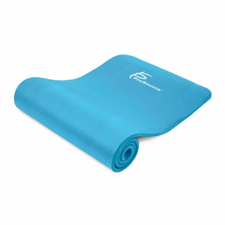 ProSource Extra Thick Yoga and Pilates Mat ½-in, 71-in Long High Density Exercise Mat
