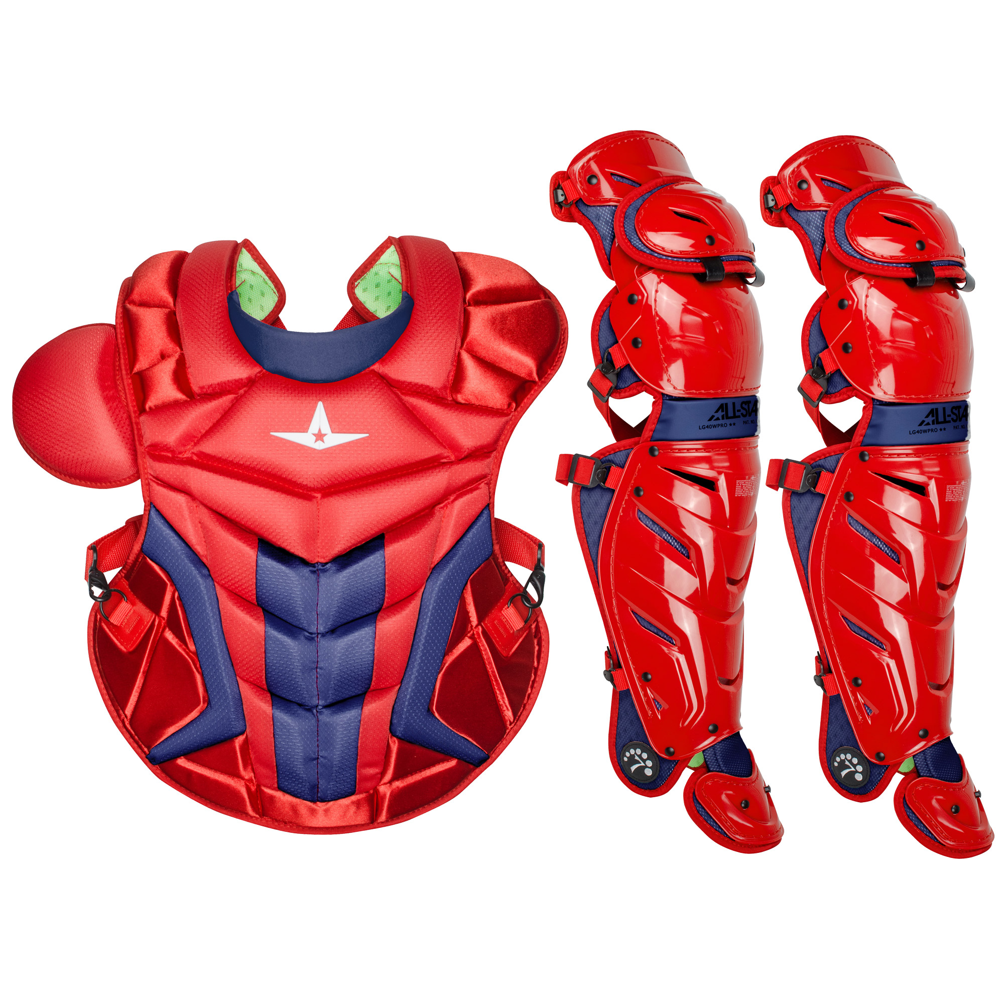 All-Star System7 Axis Adult Baseball Catcher's Gear