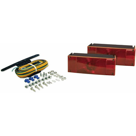 Blazer C6285 Low Profile Submersible Trailer Light Kit for Trailers Over & Under 80