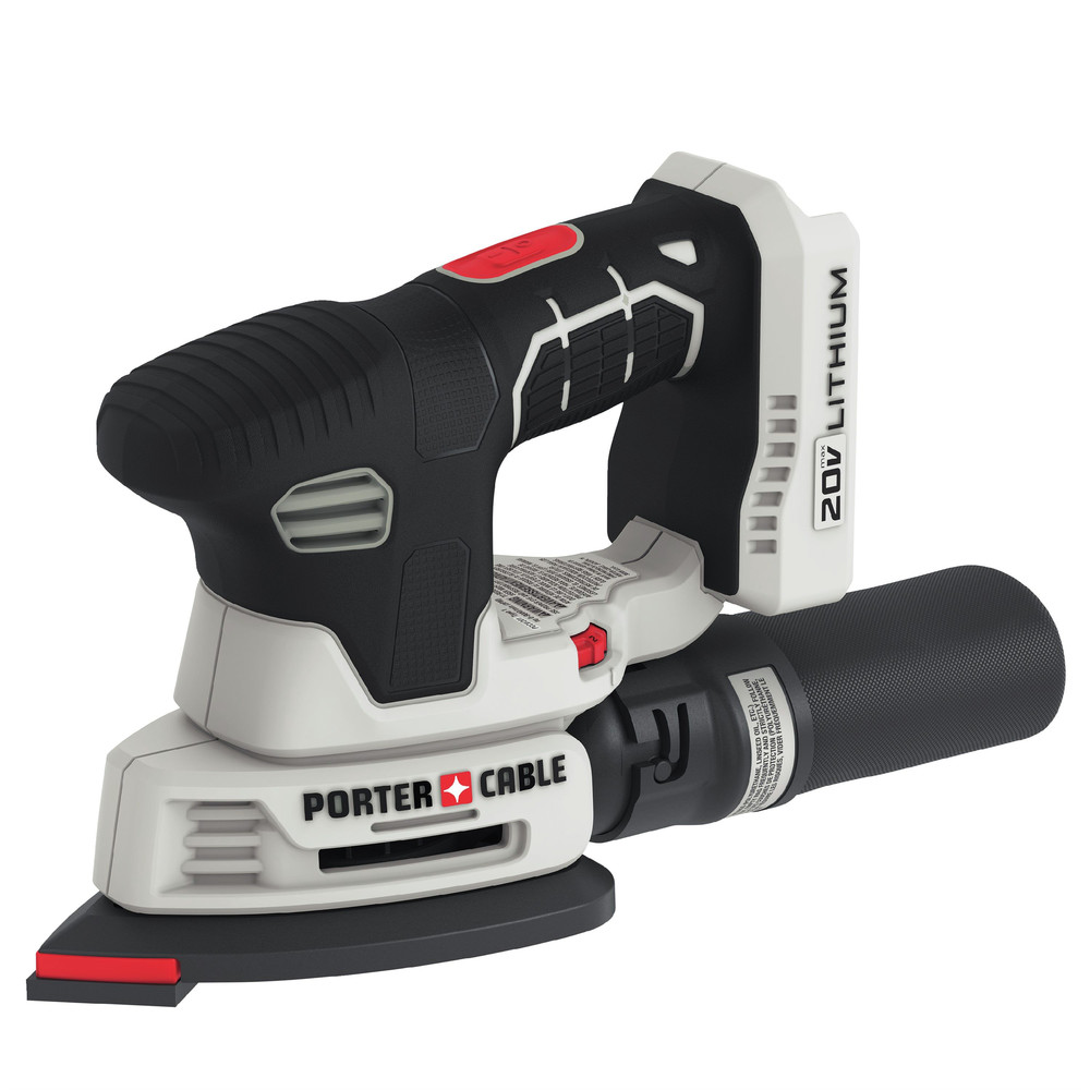 PORTER CABLE PCCW201B 20V Variable Speed Detail Sander (Bare Tool)