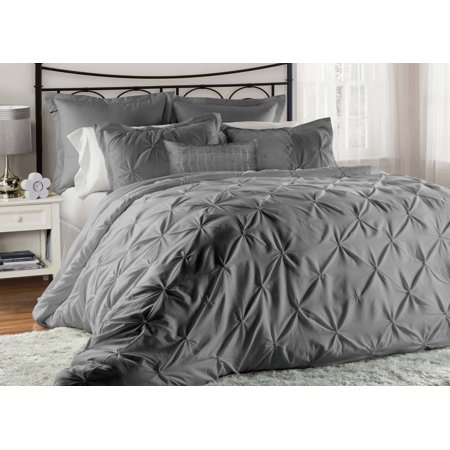 12 Piece Lucilla Imperial Blue Bed In A Bag W 500tc Cotton