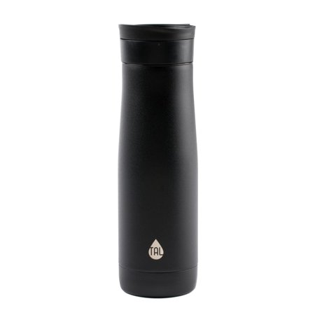 Tal Double Wall Vacuum Insulated 24 Ounce Verve Rise Black Travel Mug Tumbler