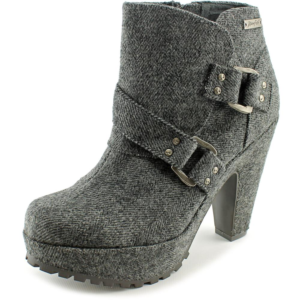 Blowfish Verena Women  Round Toe Synthetic Gray Ankle Boot