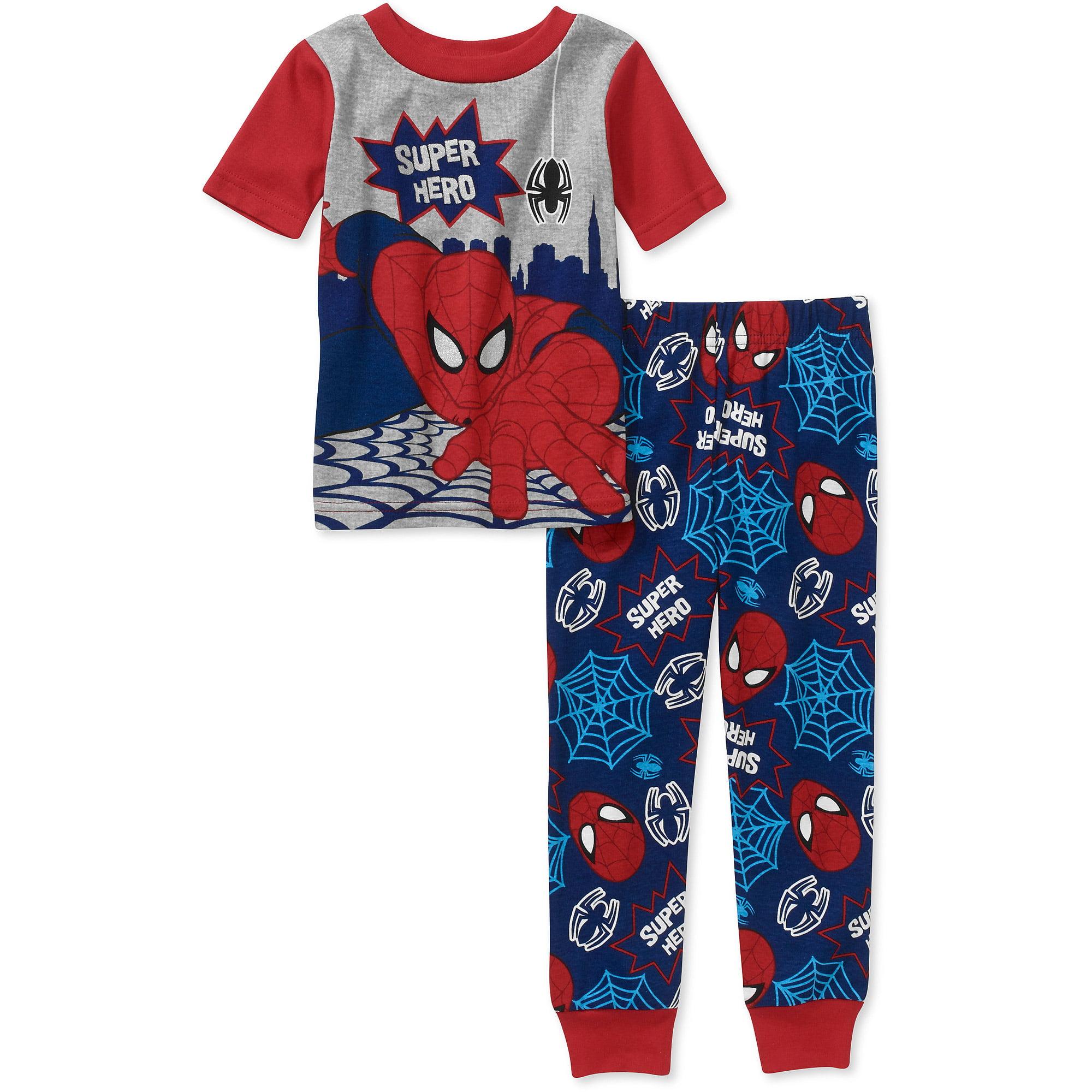 Spiderman Baby Toddler Boy Cotton Pajama Set