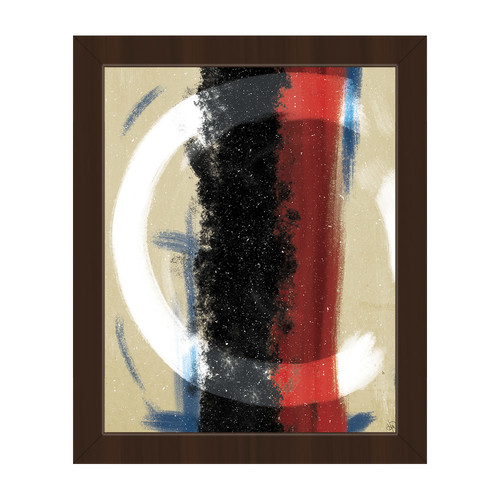 Click Wall Art 'Wrapped Up' Framed Print of Painting