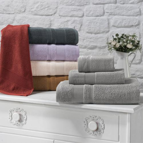 Enchante Modality 3-piece 700 GSM Towel Set Terracota