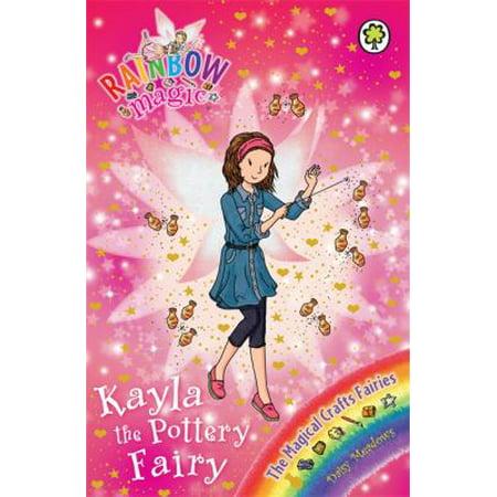 The Magical Crafts Fairies  141  Kayla The Pottery Fairy  Rainbow Magic   Paperback