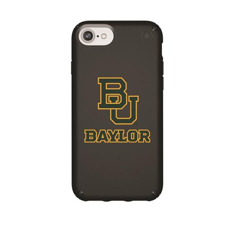 Speck IPH-876-BK-PRE-BAY-D101 Black Presidio Case with Baylor Bears Primary Mark Design for iPhone 8, iPhone 7, iPhone 6, iPhone 6s - image 1 de 1